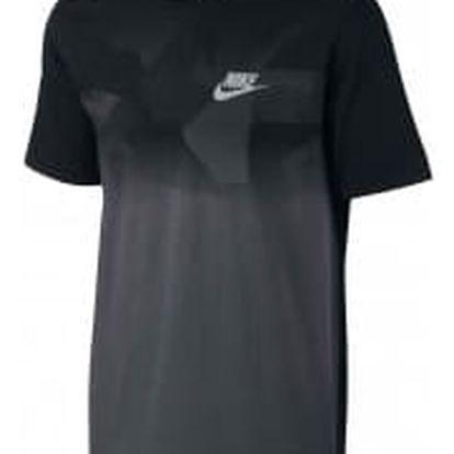 Pánské tričko Nike M NSW TEE PRNT PK ZINC CLRBLK | 847657-010 | Černá | 2XL
