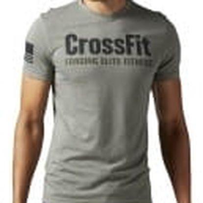 Pánské tričko Reebok RCF FEF TEE | BJ9340 | Šedá | XL