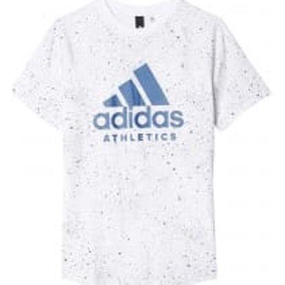 Adidas YB PRINTED TEE | BK3511 | Bílá | 140