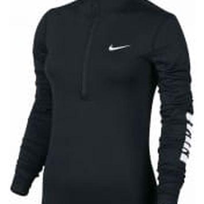 Dámské tričko Nike W NP WM TOP NEW SILO HRNGBN | 856416-010 | Černá | S