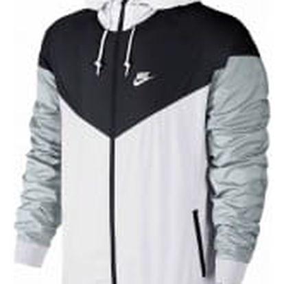 Pánská bunda Nike WINDRUNNER | 727324-101 | Bílá, Černá | L
