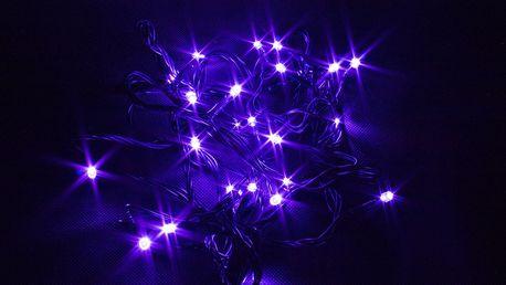 Vánoční řetěz LED osvětlení 18m, 180 LED, kabel zelený