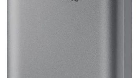 Power Bank Samsung 10200mAh (EB-PN930), s funkcí rychlonabíjení (EB-PN930CSEGWW) šedá