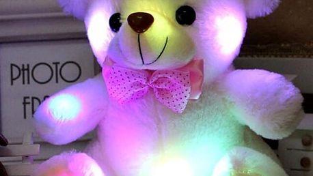 Svítící plyšový medvídek Teddy