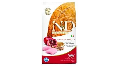 Granule N&D Low Grain CAT Adult Chicken & Pomegranate 1,5 kg