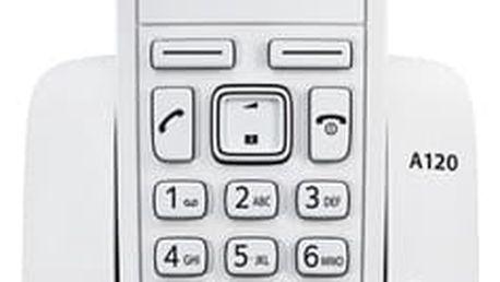 Domácí telefon Siemens A120 (S30852-H2401-R602) bílý