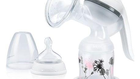 Odsávačka mateřského mléka NUK Jolie manuální šedá/bílá