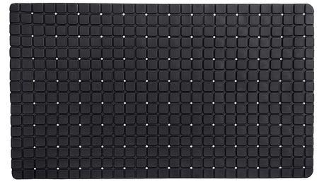 Koopman Protiskluzová podložka do koupelny černá, 69 x 39 cm