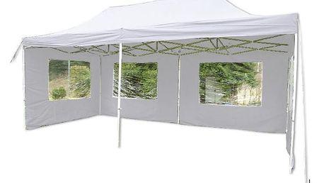 Garthen PROFI 397 Zahradní párty stan - bílý nůžkový 3x6 m