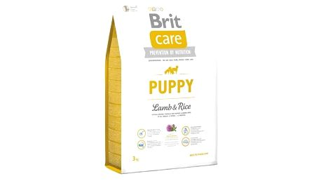 Granule Brit Care Puppy Lamb & Rice 3 kg