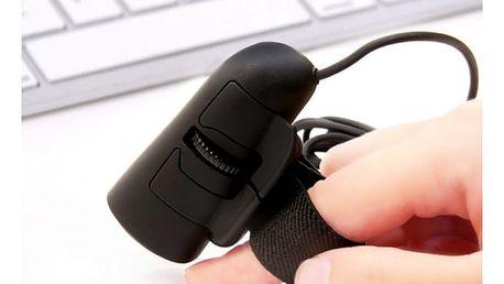 Mini optická myš na prst