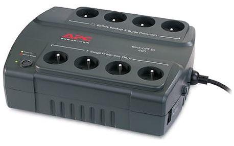 Záložní zdroj APC BE400-CP (BE400-CP) černý
