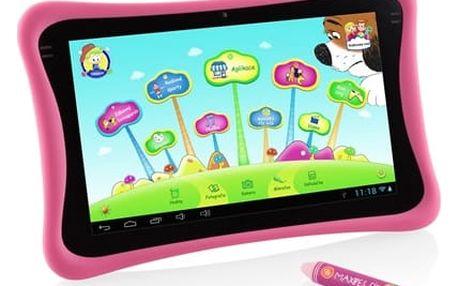 """Dotykový tablet GoGEN MAXPAD9 G4P 9"""", 8 GB, WF, Android 4.4 (MAXPAD9G4P) růžový + DOPRAVA ZDARMA"""