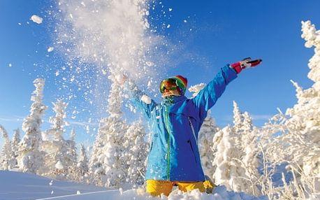 Krkonoše, lyžování, wellness zdarma. Pobyt pro páry na Hříběcí boudě v hlavní zimní sezoně.