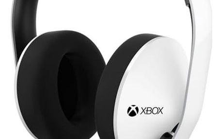 Headset Microsoft XBOX ONE Stereo sluchátka - bílá (5F4-00011)
