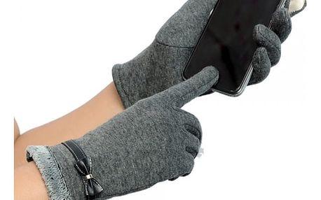 Dámské rukavice zimní na telefon - 4 barvy
