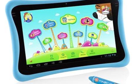 "Dotykový tablet GoGEN MAXPAD9 G4P 9"", 8 GB, WF, Android 4.4 (MAXPAD9G4B) modrý Čisticí sada ColorWay CW-5151 + DOPRAVA ZDARMA"
