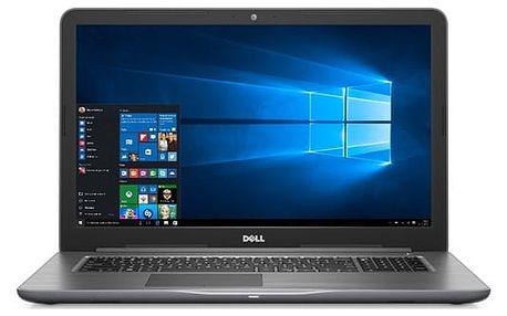 Notebook Dell 17 5000 (5767) (N-5767-N2-711S) šedý Software F-Secure SAFE 6 měsíců pro 3 zařízení + Monitorovací software Pinya Guard - licence na 6 měsíců v hodnotě 999 Kč + DOPRAVA ZDARMA