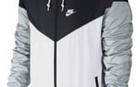 Pánská bunda Nike WINDRUNNER   727324-101   Bílá, Černá   M