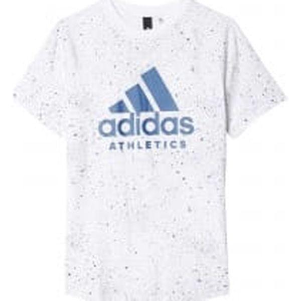 Adidas YB PRINTED TEE   BK3511   Bílá   140