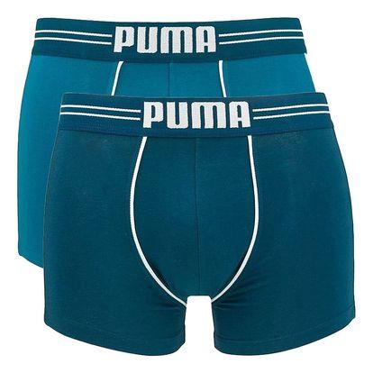 2PACK pánské boxerky Puma blue long XL