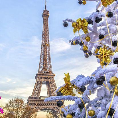 Advent v romantické Paříži s ubytováním na 1 noc