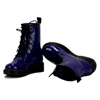 Dámské modré kotníkové boty Rebel 112