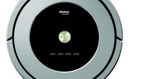 Vysavač robotický iRobot Roomba 886 stříbrný + Doprava zdarma