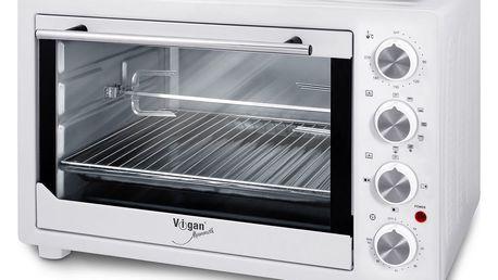 VIGAN Elektrická pečicí trouba s grilem VIGAN T45L2P