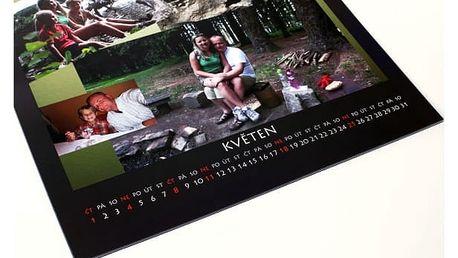 Fotokalendář - A4 či A3 s vlastní fotografií, spirálová vazba