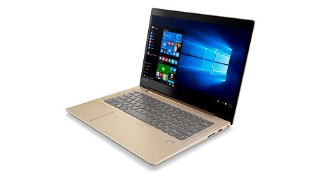 Notebook Lenovo 520S-14IKB (80X2002YCK) zlatý Software F-Secure SAFE 6 měsíců pro 3 zařízení + Monitorovací software Pinya Guard - licence na 6 měsíců v hodnotě 999 Kč + DOPRAVA ZDARMA
