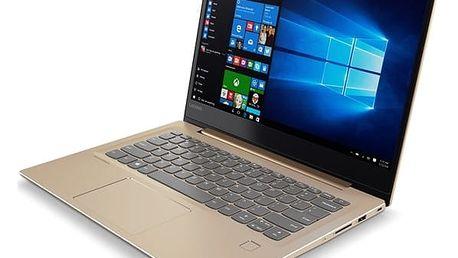 Notebook Lenovo 520S-14IKB (80X2002YCK) zlatý + DOPRAVA ZDARMA