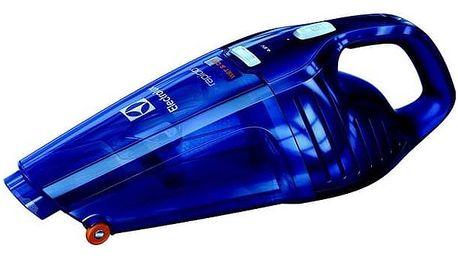 Akumulátorový vysavač Electrolux Rapido ZB5104WDB modrý + Doprava zdarma