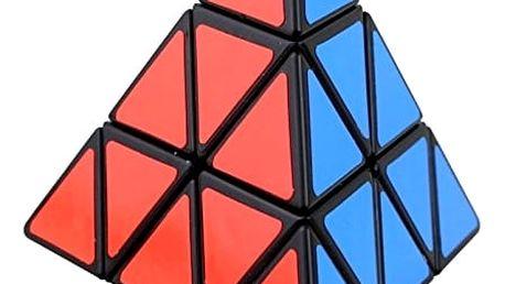 Rubikova kostka ve tvaru jehlanu, další varianta otočných hlavolamů.