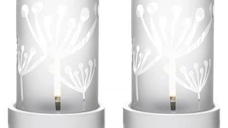Svícen na čajovou svíčku - sada 2 ks!