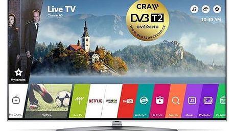 Televize LG 43UJ7507 stříbrná/titanium + Doprava zdarma