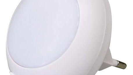 Noční světlo EMOS do zásuvky, 5 x LED (1456000011) bílé