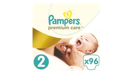 Plenky Pampers Premium Care New Baby Jumbo Pack vel. 2, 3-6kg, 96ks