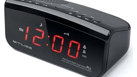 Radiobudík MUSE M-12 CR černý