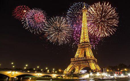 Silvestr v Paříži | 4denní silvestrovský zájezd do Francie