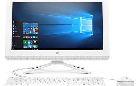 Počítač All In One HP 22-b031nc AiO 22' (Y0Y63EA#BCM) bílý Monitorovací software Pinya Guard - licence na 6 měsíců (zdarma) + Doprava zdarma