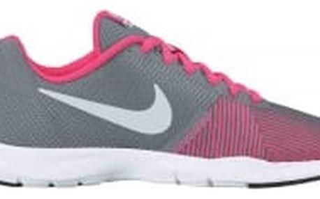 Dámské fitness boty Nike WMNS FLEX BIJOUX | 881863-006 | Růžová, Šedá | 40,5