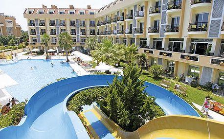 Hotel Camyuva Beach, Turecká riviéra, Turecko, letecky, all inclusive