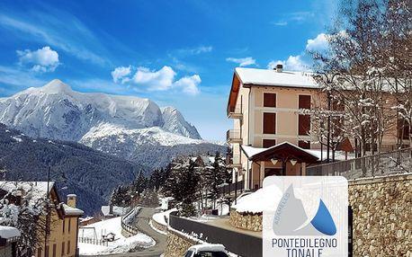 5denní Passo Tonale se skipasem   Hotel Casa Alpina***   Doprava, ubytování, polopenze a skipas v ceně