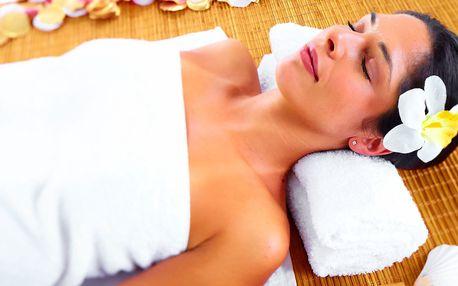 Kombinovaná masáž vč. rašelinového zábalu