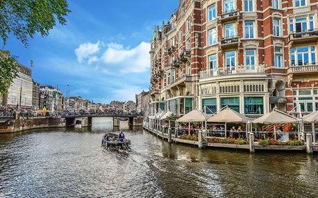 Amsterdam, holandská městečka a květinový park Keukenhof na jaře 2018 na 3-6 dní