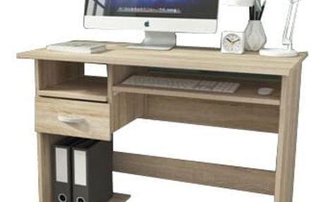 P1 - Kancelářský stůl (dub sonoma)