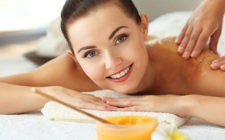 60minutová medová detoxikační masáž