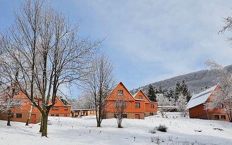 Zimní Beskydy s plnou penzí a saunou