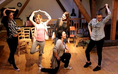 Kurz herectví - víkendová improvizace